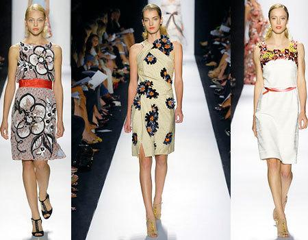 Carolina Herrera en la Semana de la Moda de Nueva York Primavera-Verano 2008