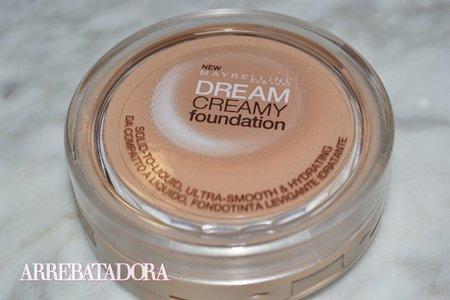 Dream Creamy Foundation, probamos el nuevo maquillaje de Maybelline