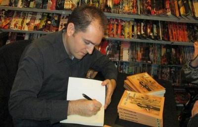 """Santiago Sánchez 'Korvec': """" Creo que 'Punto Seguro III/7' es uno de mis trabajos más redondos"""""""