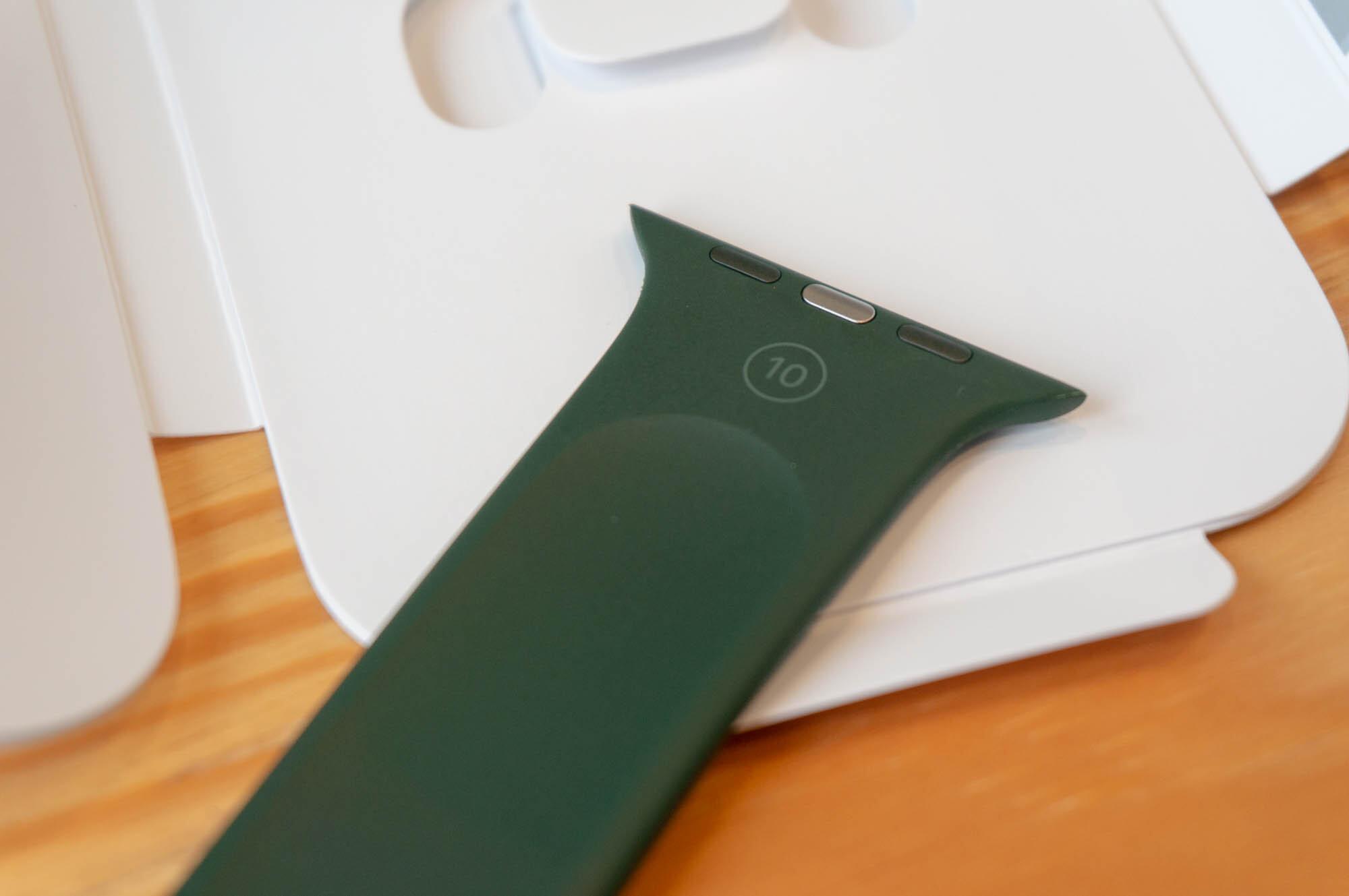 Foto de Apple Watch SE y Solo Loop (11/21)