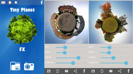 Tiny Planet FX Pro para Android