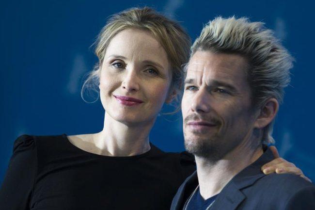 Julie Delpy y Ethan Hawke en el festival de Berlín