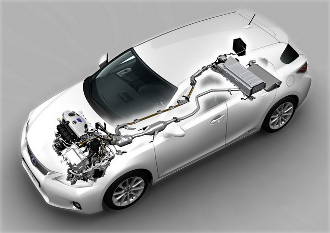 esquema motor lexus ct-200h