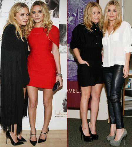 """Mary-Kate y Ashley Olsen promocionan su libro """"Influence"""" en Nueva York"""