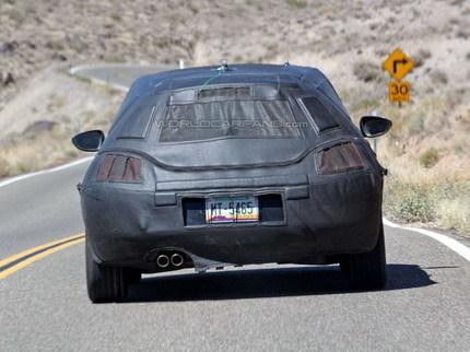 Primeras fotos espía del Volkswagen Scirocco