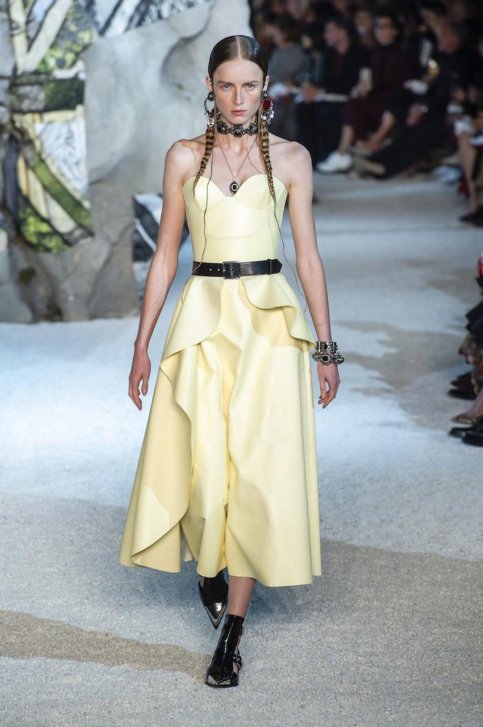 Alexander McQueen Primavera-Verano 2019