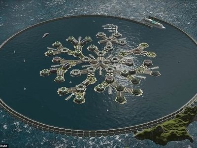 Polinesia podría albergar el primer país flotante del mundo