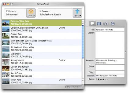 PictureSync, aplicación para subir imágenes