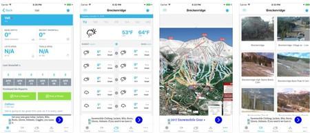 Parte De Nieve App Esquiar