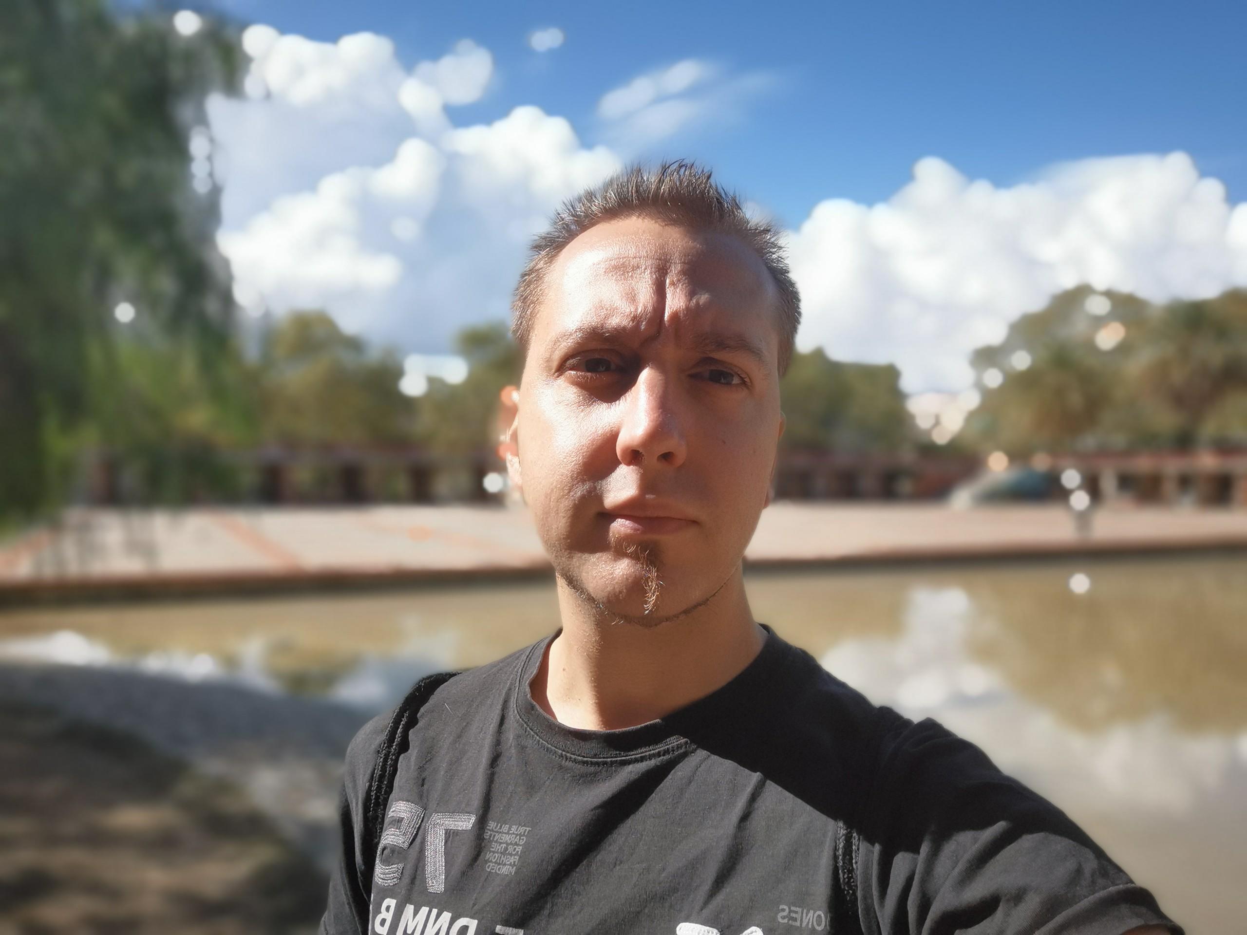 Fotos cámara frontal Mate 20