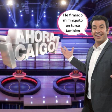 '¡Ahora Caigo!' y Arturo Valls desaparecen para siempre de las tardes de Antena 3: este es el motivo de la cancelación del programa tras 10 años de emisión