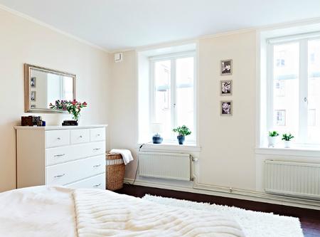 Dormitorio flores otra perspectiva