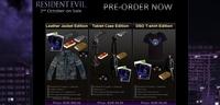 Capcom anuncia una tienda online para Europa y lanza reservas de ediciones especiales de 'Resident Evil 6'