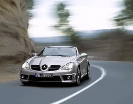 Mercedes-Benz SLK 55 AMG, las fotos oficiales