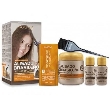 Kit De Alisado Brasileno Kativa