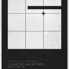 Foto 4 de 6 de la galería six-architects-posters-minimalistas-de-grandes-arquitectos en Decoesfera