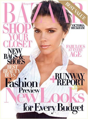 Victoria Beckham posa para Harper's Bazaar