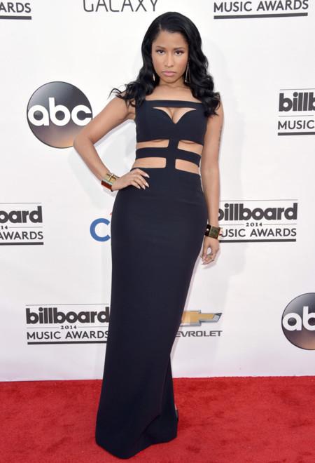Nicki Minaj McQueen Billboard 2014 mejor vestidas