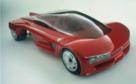 Proxima, el prototipo de Peugeot que vino del futuro en 1986