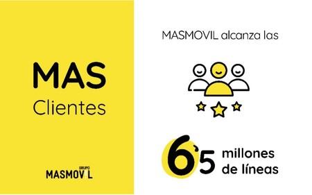 El grupo MásMóvil bate su récord de captación de clientes con 500.000 altas netas durante el segundo trimestre