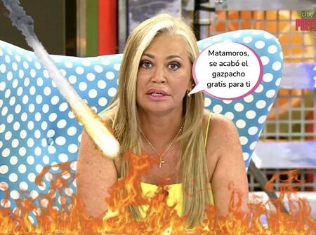Belén Esteban dispara a quemarropa: pone fino a Matamoros por traicionar a 'Sálvame' y estalla contra Rosa Benito