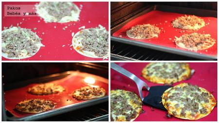 pizzas infantiles en horno