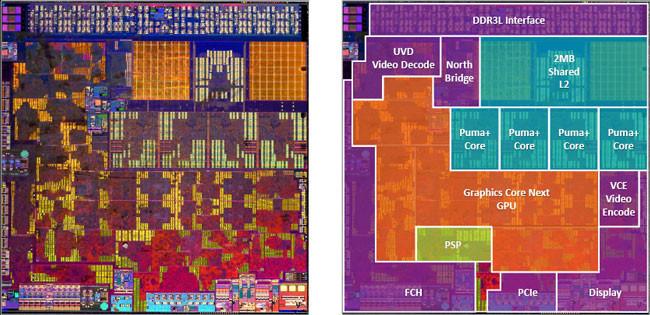 AMD presenta 'Beema' y 'Mullins', su tercera generación de APU para portátiles