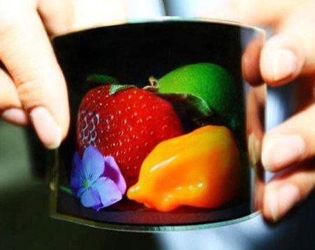Samsung promete un dispositivo con pantalla flexible para 2012