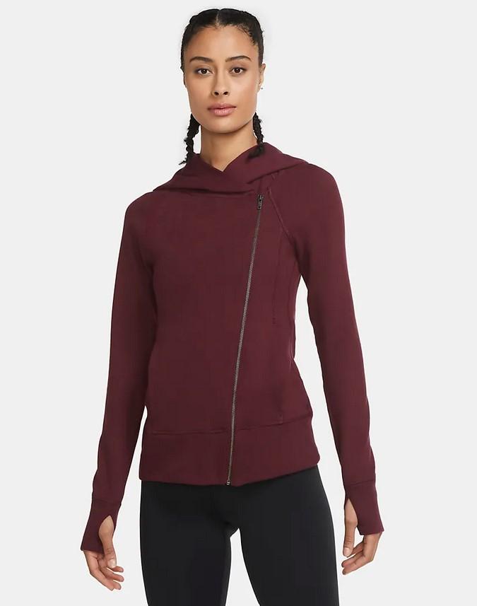 Sudadera con capucha y cremallera completa - Mujer Nike Yoga