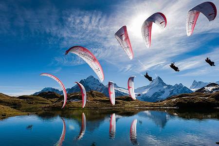 Impresionante fotografía secuencial: Red Bull Illume