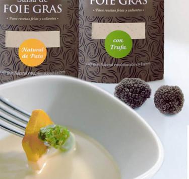 Nuevas salsas de foie gras de pato de Imperia