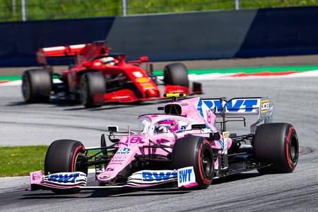 Stroll Vettel F1 2020