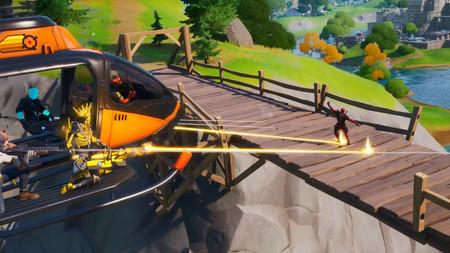 La nueva actualización de Fortnite añade helicópteros para que volemos con todo nuestro escuadrón
