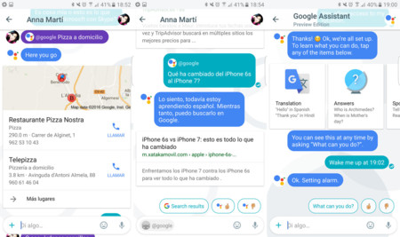 Capturas Google Allo