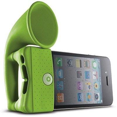 Cuatro amplificadores pasivos para tu iPhone