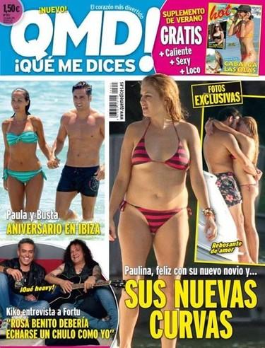 Pues o Paulina Rubio está embarazada o le hacen falta unos pilates