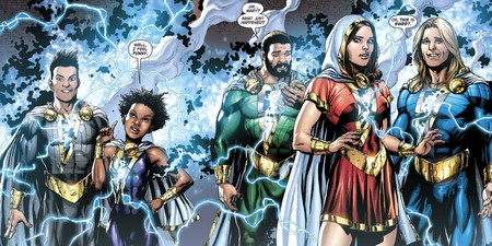 Shazam Family From Dc Comics