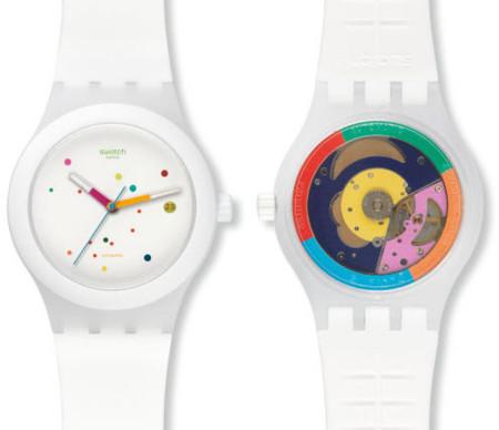 Swatch Sistem51 es automático, de bajo coste y muy bello