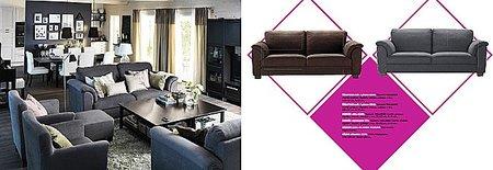 Novedades salones Catálogo Ikea 2012