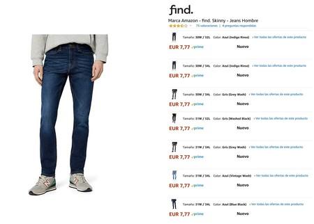 Oferta Pantalones Vaqueros Spagnolo Para Hombre Solo 23 73