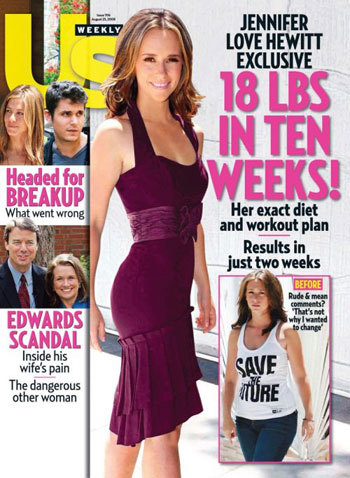 Jennifer Love Hewitt estrena figura