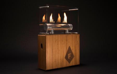 Fireside Audiobox, un altavoz inalámbrico que arde al ritmo de la música