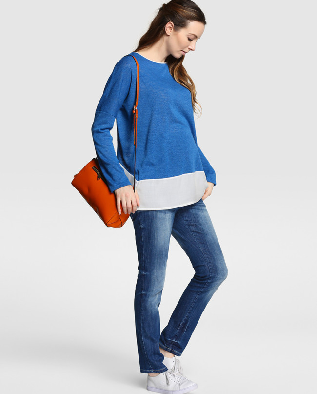 9fbd55b357c Look Jeans Y Jersey Premama