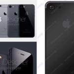 Un render nos muestra cómo podría ser el nuevo 'space black' en el iPhone 7