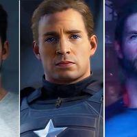 Este habría sido el aspecto de los superhéroes de Marvel's Avengers de haber elegido a los conocidos actores de las películas