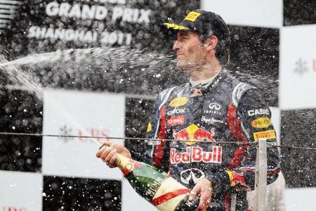 GP de China F1 2011: Mark Webber recupera la sonrisa