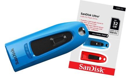 Dos pendrives de 32 GB a precio casi de uno sólo: Amazon te deja hoy el pack de 2 SanDisk Ultra por sólo 16,99 euros