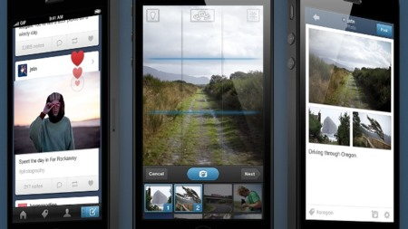 Los photosets llegan a la aplicación de Tumblr para iOS