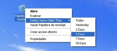 Bin manager, gestiona más eficientemente la papelera de Windows