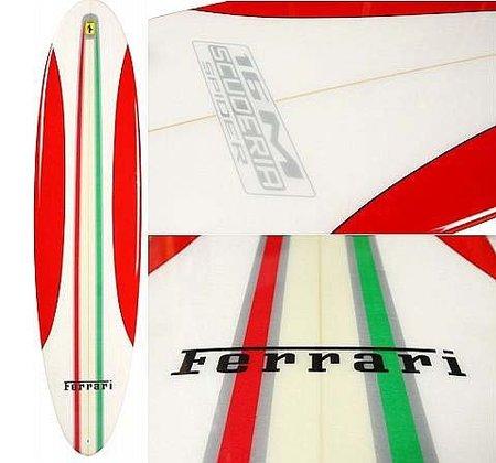 Tabla de surf de Ferrari